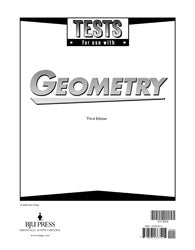 BJU Geometry Tests (3rd ed.) (PH) - Learning Plus PH