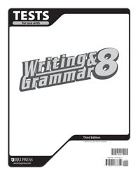 BJU Writing & Grammar 8 Tests (3rd ed.) (PH) - Learning Plus PH