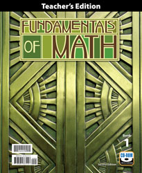 BJU Fundamentals of Math Teacher's Edition with CD (2nd ed.) - Learning Plus PH