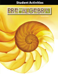 BJU Pre-Algebra Student Activities Manual (2nd Ed.) (PH) - Learning Plus PH