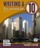 BJU Writing & Grammar 10 Teacher's Edition with CD (3rd ed.) - Learning Plus PH