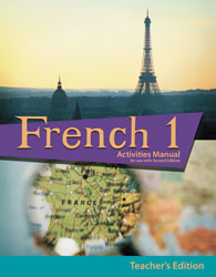 BJU French 1 Student Activities Manual Teacher's Edition (2nd ed.) - Learning Plus PH