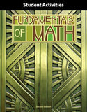 BJU Fundamentals of Math Student Activities Manual (2nd ed.) (PH) - Learning Plus PH