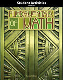 BJU Fundamentals of Math Student Activities Answer Key (2nd ed.) (PH) - Learning Plus PH