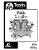 BJU Bible Truths 2 Tests Answer Key (4th ed.) (PH) - Learning Plus PH