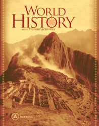 BJU World History Student Text A (3rd ed.) (PH) - Learning Plus PH