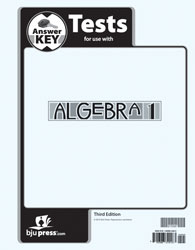 BJU Algebra 1 Tests Answer Key (3rd ed.) (PH) - Learning Plus PH
