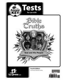 BJU Bible Truths 4 Tests Answer Key (4th ed.) (PH) - Learning Plus PH
