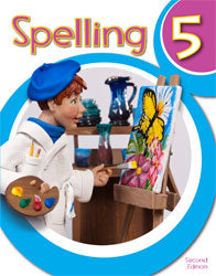 BJU Spelling 5 Student Worktext (2nd Ed.) (PH)
