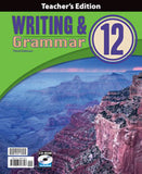 BJU Writing & Grammar 12 Teacher's Edition with CD (3rd ed.) - Learning Plus PH