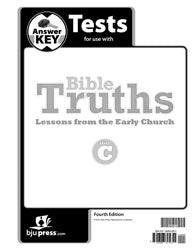 BJU Bible Truths C Tests Answer Key (4th ed.) (PH) - Learning Plus PH