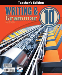 BJU Writing & Grammar 10 Teacher's Edition with CD (4th ed.)