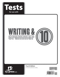 BJU Writing & Grammar 10 Tests (4th ed.) (PH)