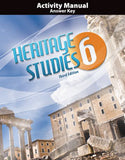 BJU Heritage Studies 6 Student Activity Manual Answer Key (3rd ed.) - Learning Plus PH