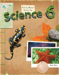 BJU Science 6 Student Activities Manual Answer Key (4th Ed.)