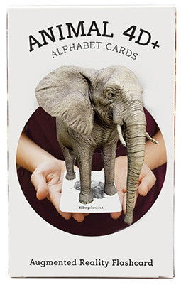 Animal 4D+ Card Set (Includes interactive Food Cards) - Learning Plus PH