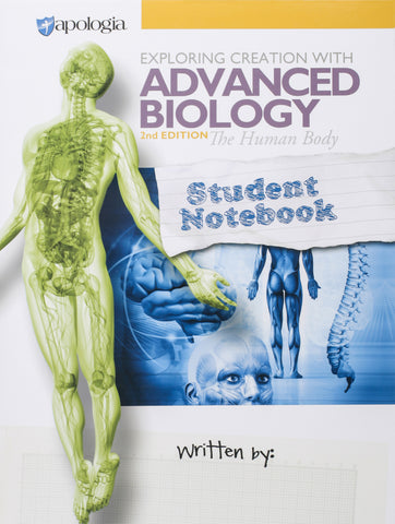 Exploring Creation: Advanced Biology Student Notebook - Learning Plus PH