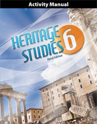 BJU Heritage Studies 6 Student Activities Manual (3rd ed.)