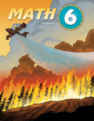 BJU Math 6 Student Text (3rd ed.)