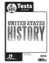 BJU United States History Tests Answer Key (4th ed)
