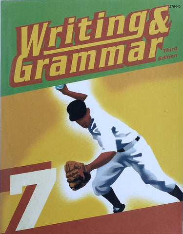 BJU Writing & Grammar 7 Student Worktext (3rd ed.) (PH) - Learning Plus PH