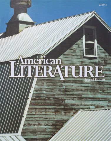 BJU American Literature Student Text (2nd ed.) (PH) - Learning Plus PH