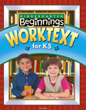 BJU Beginnings Student Worktext for K5 (3rd ed.)