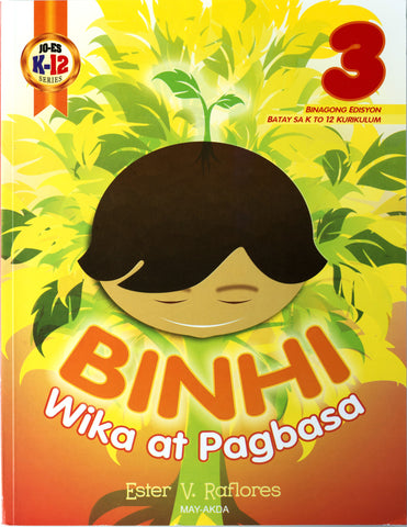 Binhi 3 Set (Textbook, TM) - Learning Plus PH