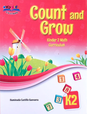 Count and Grow K2 Set (Textbook, TM)