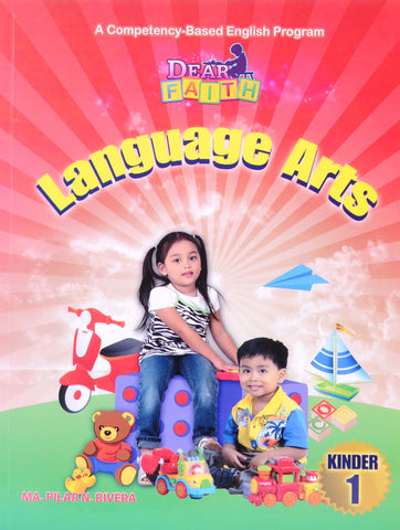 Dear Faith Language Arts K1 Set (Textbook, TM) - Learning Plus PH
