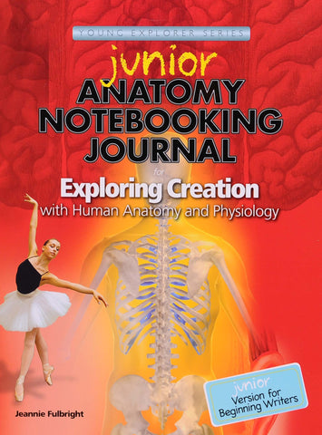 Exploring Creation: Human Anatomy and Physiology Junior Notebooking Journal - Learning Plus PH