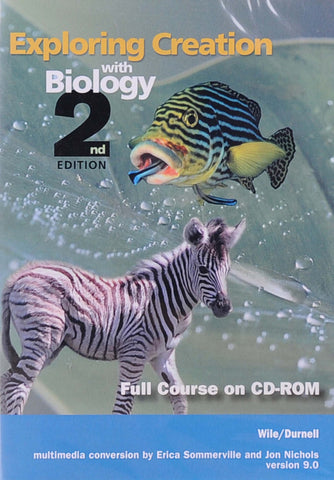Exploring Creation: Biology Full Course CD-ROM