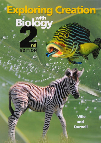Exploring Creation: Biology Set (Textbook, Tests & Solutions)
