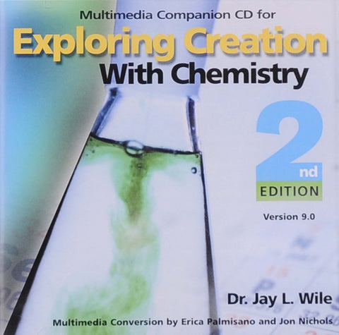 Exploring Creation: Chemistry Multimedia Companion CD-Rom (2nd ed) - Learning Plus PH