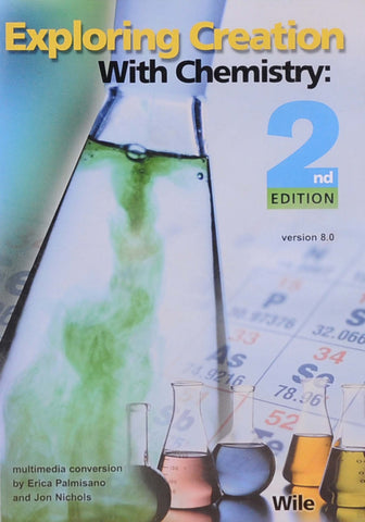 Exploring Creation: Chemistry Full Course CD-Rom (2nd ed) - Learning Plus PH