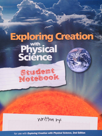 Exploring Creation: Physical Science Student Notebook - Learning Plus PH