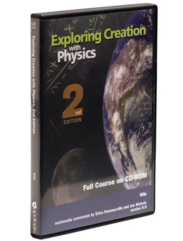 Exploring Creation: Physics Full Course CD-ROM - Learning Plus PH
