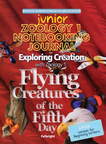 Exploring Creation: Zoology 1 (Flying Creatures) Junior Notebooking Journal - Learning Plus PH