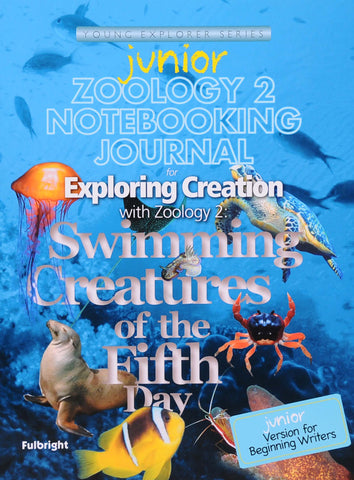 Exploring Creation: Zoology 2 (Swimming Creatures) Junior Notebooking Journal - Learning Plus PH