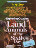 Exploring Creation: Zoology 3 (Land Animals) Junior Notebooking Journal - Learning Plus PH