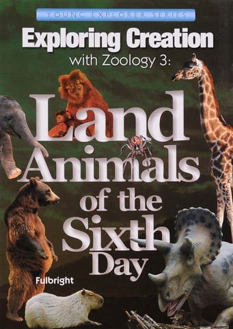 Exploring Creation: Zoology 3 (Land Animals) Textbook - Learning Plus PH
