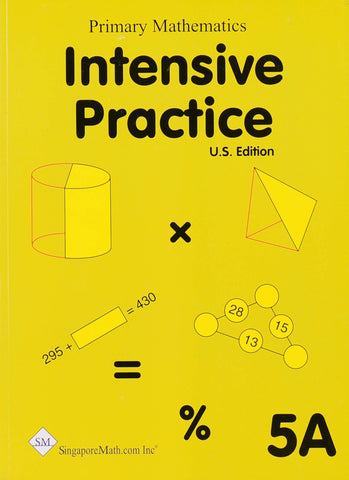 Primary Mathematics Intensive Practice 5A - Learning Plus PH