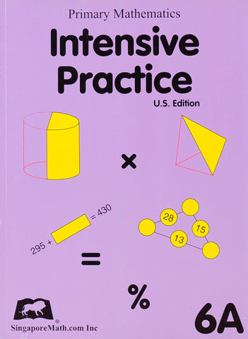 Primary Mathematics Intensive Practice 6A - Learning Plus PH