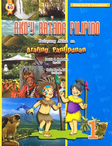 Araling Panlipunan 1: Ako'y Batang Pilipino Set (TB+TM) - Learning Plus PH