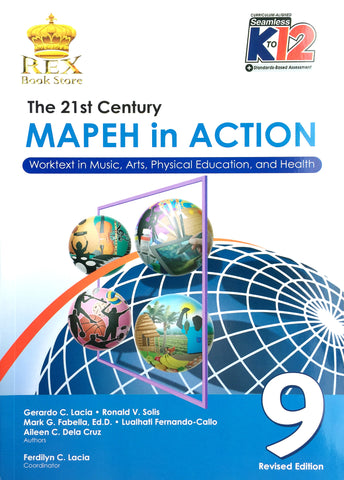 MAPEH in Action 9 Set (TB, TM) - Learning Plus PH