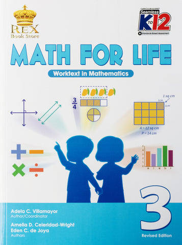 Math for Life 3 Set (Textbook, TM) - Learning Plus PH