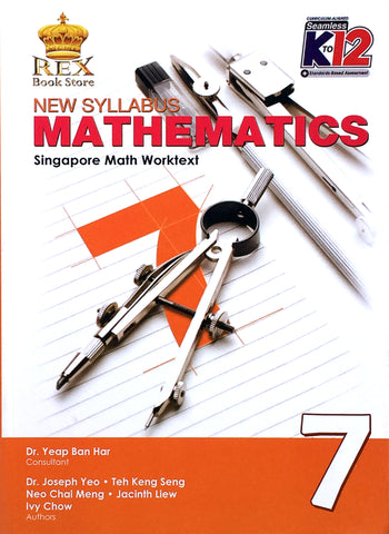 New Syllabus Mathematics 7 Set (TB, TM) - Learning Plus PH