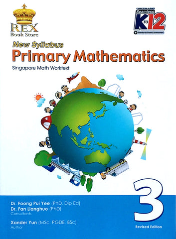 New Syllabus Primary Mathematics 3 Set (TB, TM) - Learning Plus PH