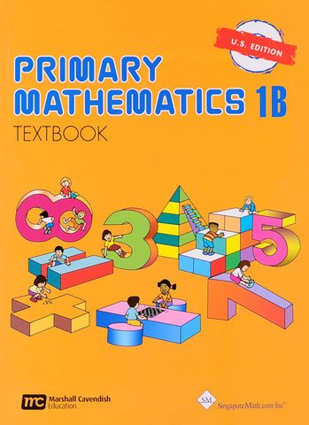 Primary Math Textbook 1B U.S. Edition - Learning Plus PH