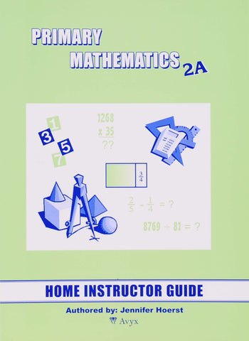 Primary Math Home Instructor's Guide 2A U.S. Edition - Learning Plus PH